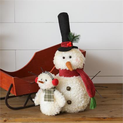 Fluff N Family - Plush Snowman - Parent And Child