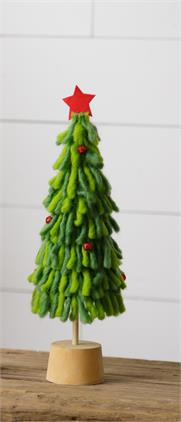 Wool Tree - Green, Small