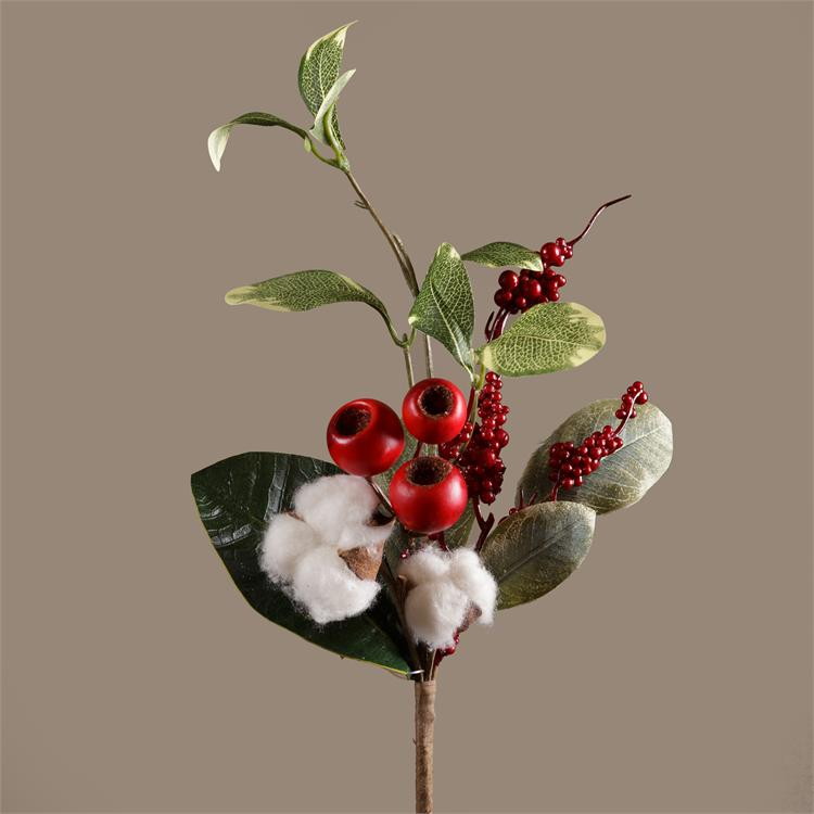 Pick - Cotton Red Berries