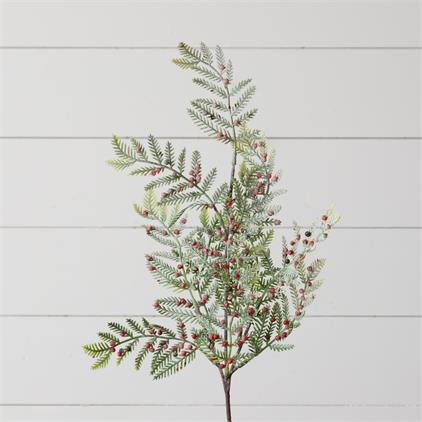 Pick - Iced Red Berry Pine