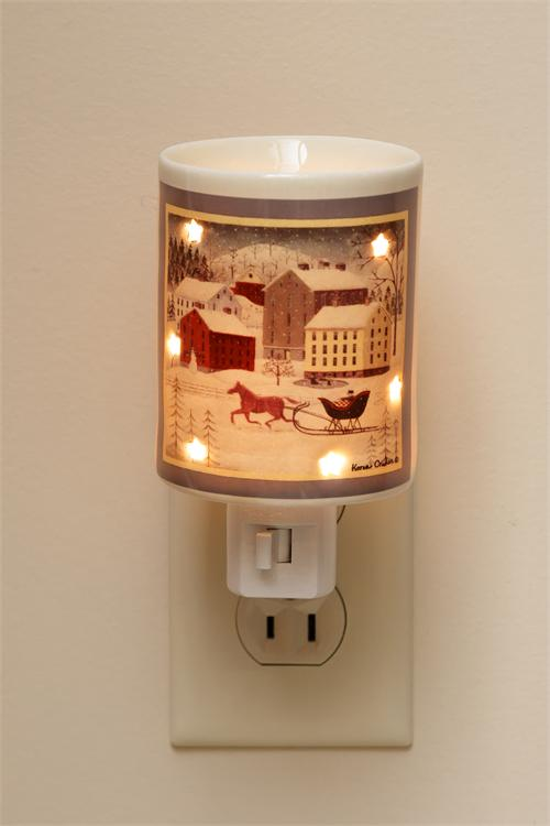 Tart Warmer - Horse And Sleigh