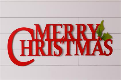 Sign - Merry Christmas