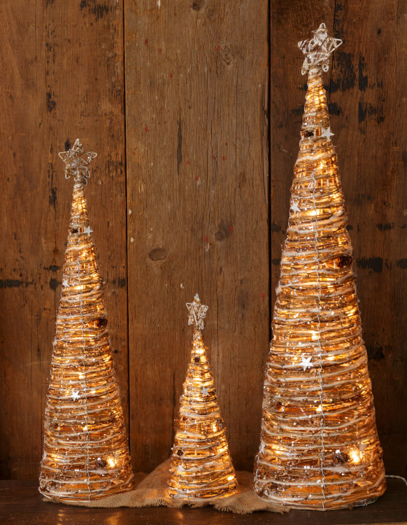 Twig Tree - Stars And Glitter - 3 sizes