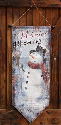 Wall Decor - Winter Blessings