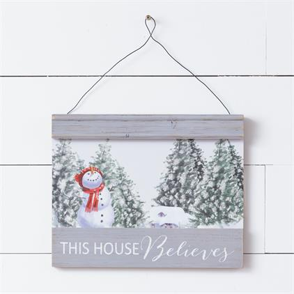 Wall Hanging - This House Believes