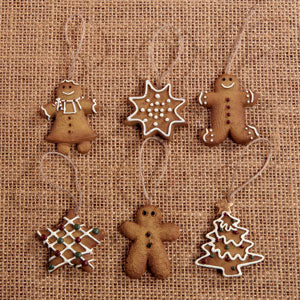 Mini Gingerbread Ornaments