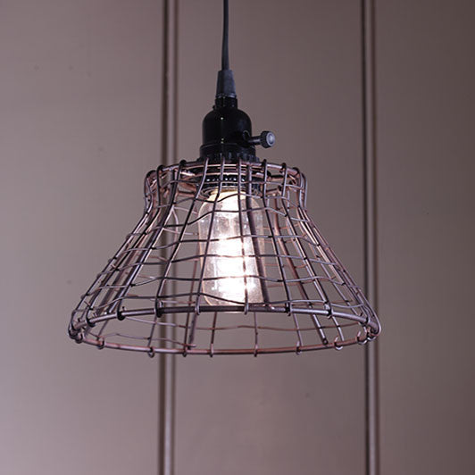 Small Wire Farmhouse Light