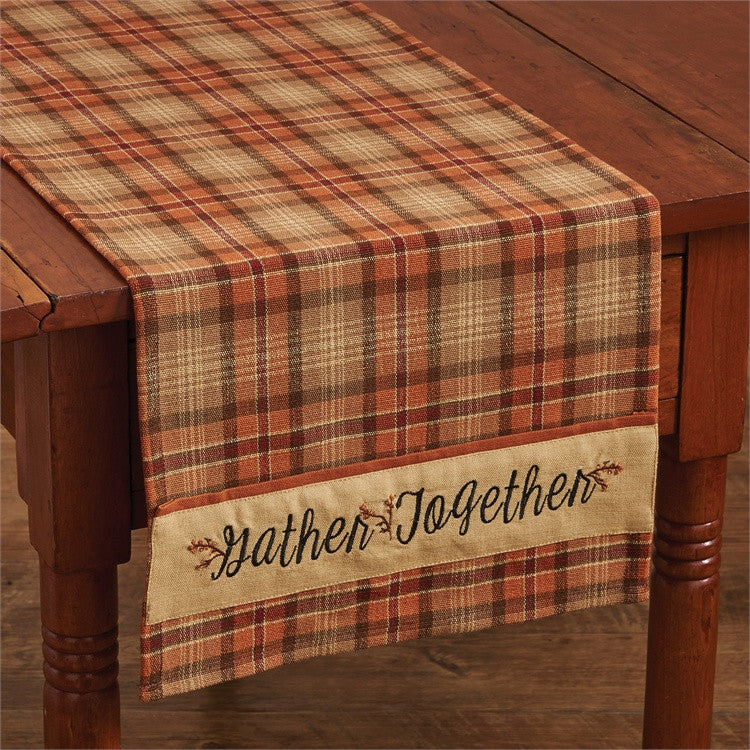 Gather Together Table Runner -Border