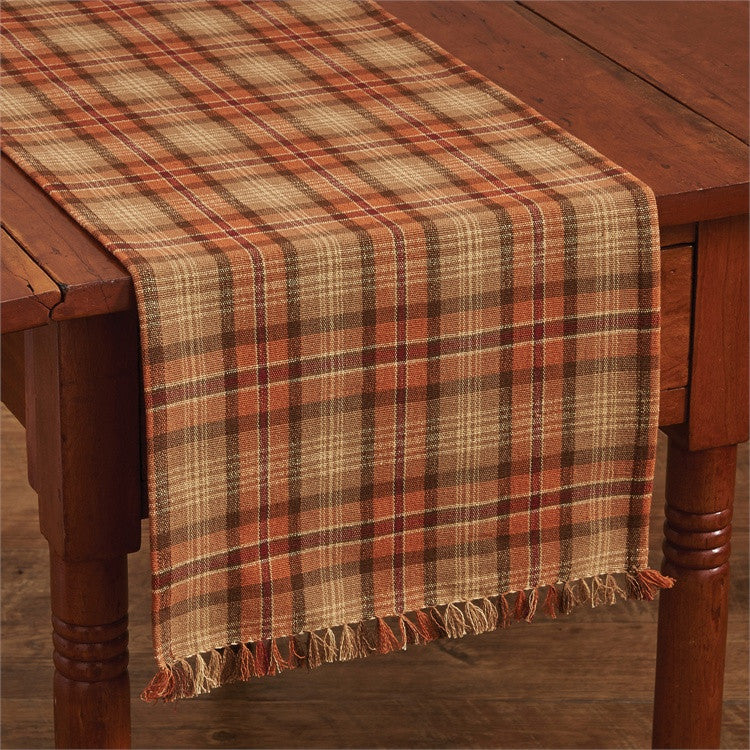 Gather Together Table Runner -Plaid