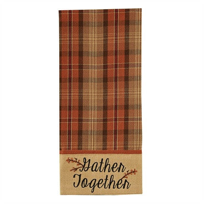 "Gather Together 28"" x 19"" Dishtowel"