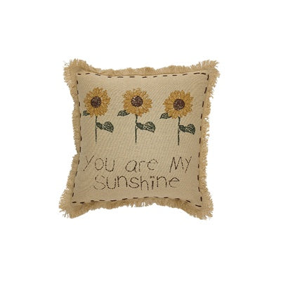 "You are My Sunshine Print 10"" Pillow"