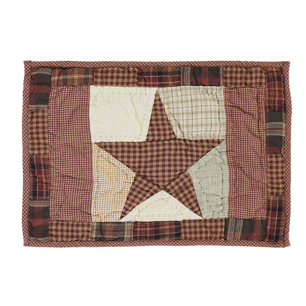 Abilene Star Quilted Placemat