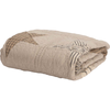 "Sawyer Mill Star Charcoal Quilted Throw 60"" x 50"""