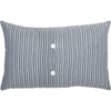 "Sawyer Mill Blue Farmhouse Pillow 14"" x 22"""