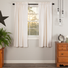 Simple Life Flax Antique White Panel Curtain Set