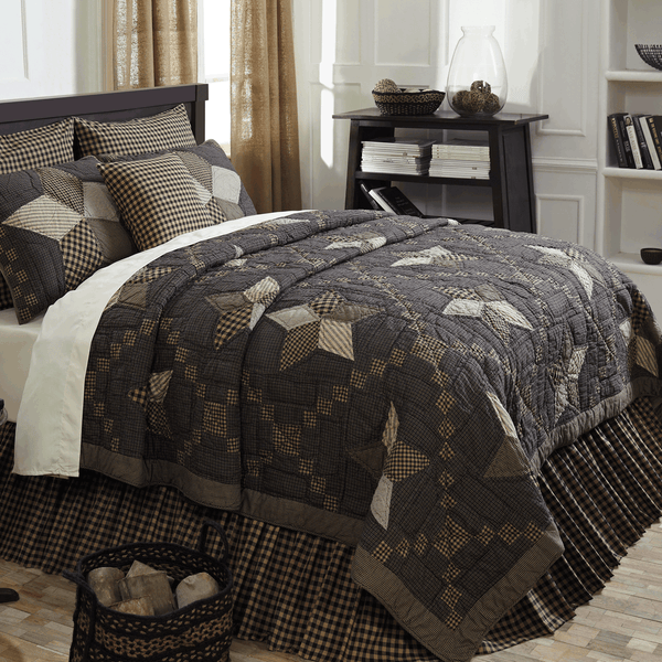 Farmhouse Star Quilts -Queen or King