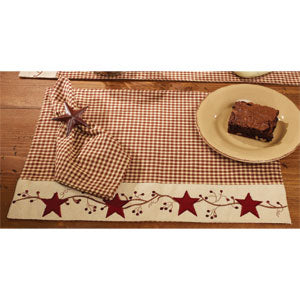 Stars N Berries Placemat