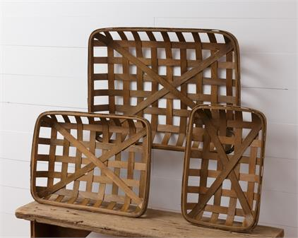 Tobacco Baskets - Rectangle