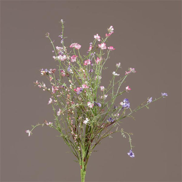 Pick - Asst Pink & Lavender Tiny Flowers & Berries