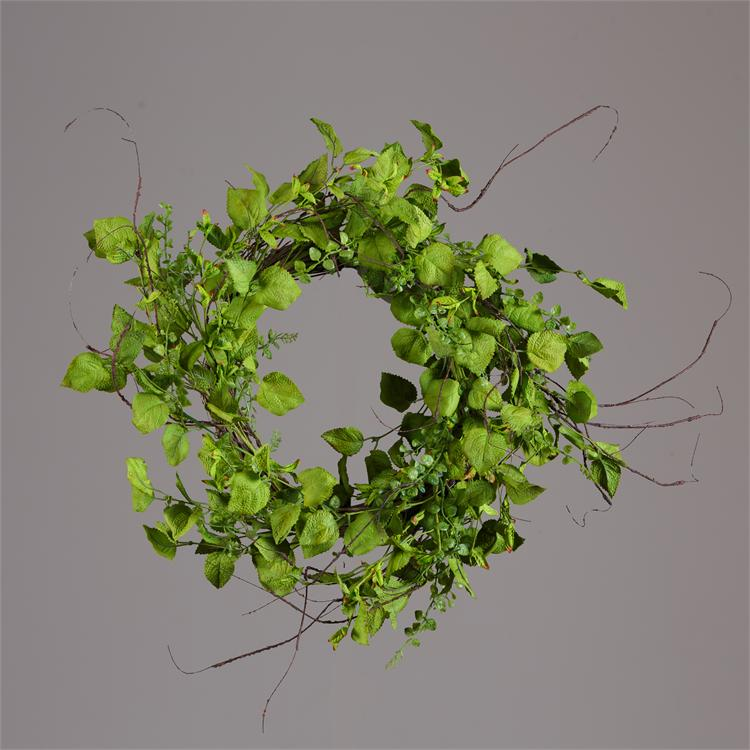 Wreath - Assorted Green Foliage