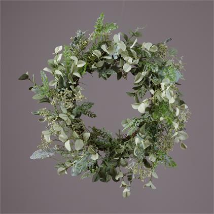 Wreath - Twig, Assorted Foliage