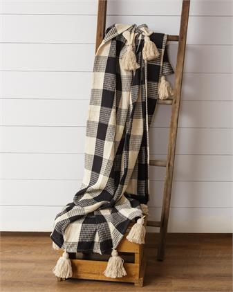 Blanket - Buffalo Check, Black