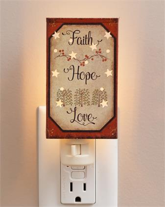 Night Light - Faith Hope Love
