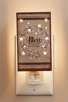 Night Light - Bless Our Home