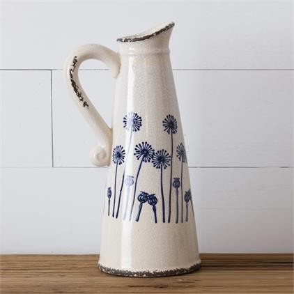 Pottery - Dandelion Pitcher