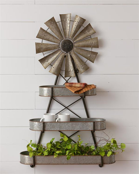 Windmill Container Shelf