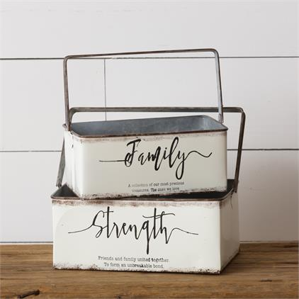 Baskets - Strength, Family