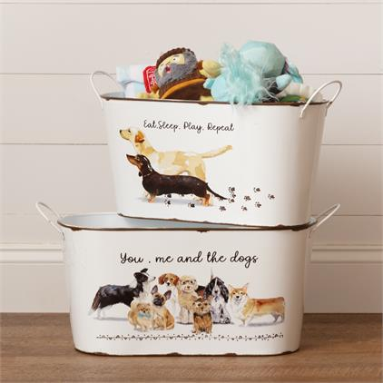 Playful Pups - Toy Bins