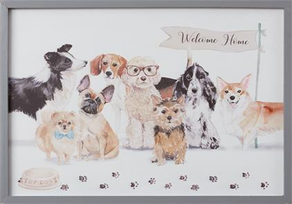 Playful Pups - Welcome Home Sign