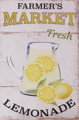 Sign - Farmer's Market Lemonade