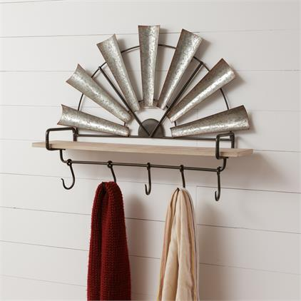 Shelf - Windmill, Hooks