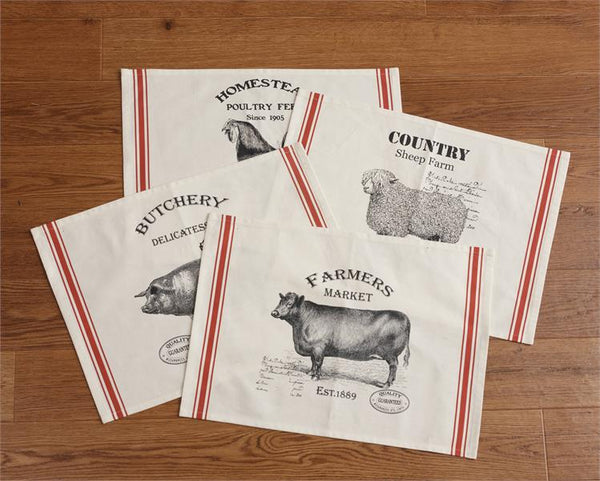 Farm Animals Placemat