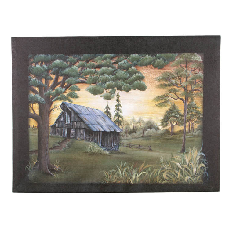 The Angle Barn Canvas