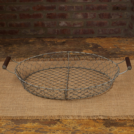 Oval Jefferson Basket