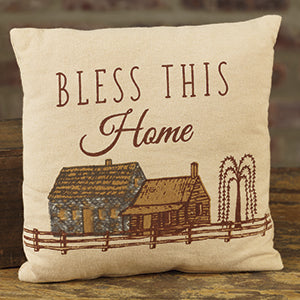 Small Bless/Home Pillow