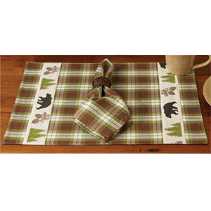 Woodland Plaid Placemat