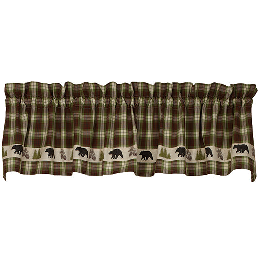 Woodland Plaid Valance