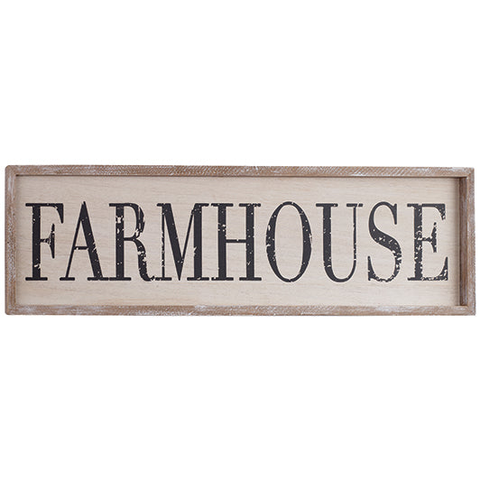 "30x8"" Farmhouse Sign"