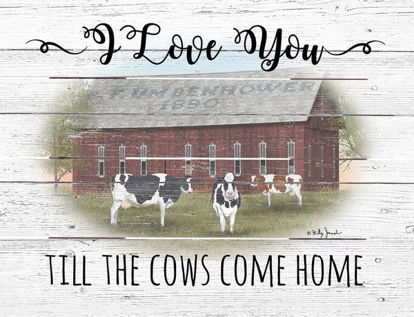 Cows come Home - Pallet Art