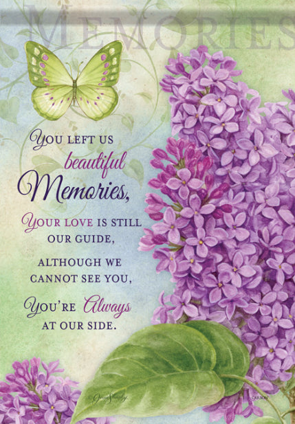 Beautiful Memories Garden Flag