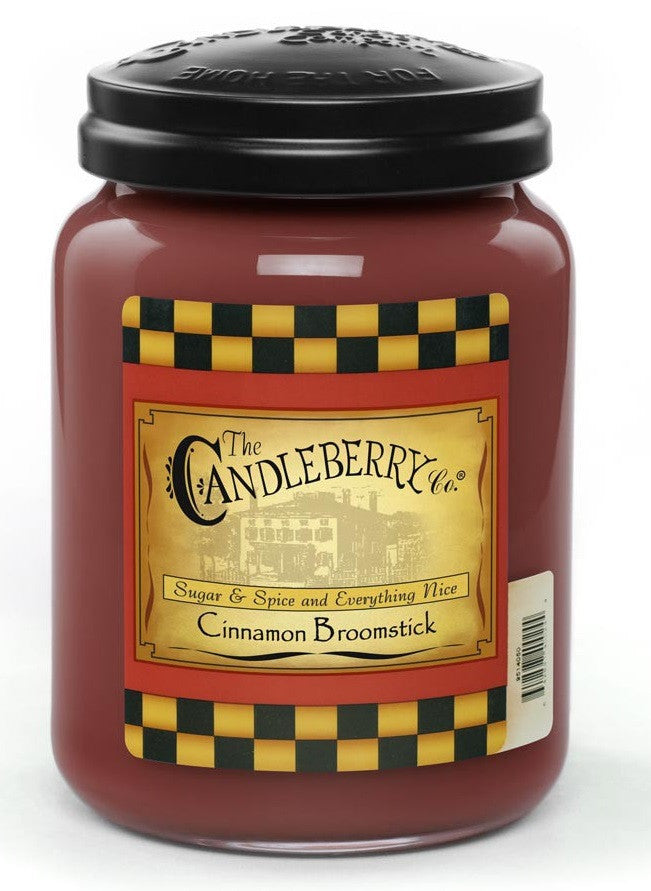 Cinnamon Broomstick 26 oz. Jar Candle