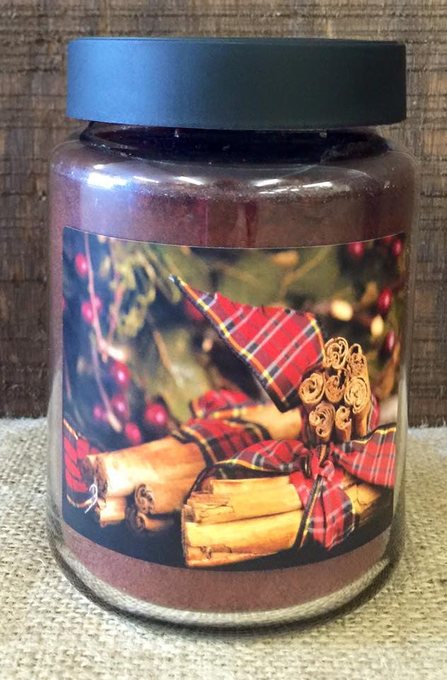 Cinnamon Sticks 26 oz. Jar Candle -Cinnamon Bundle
