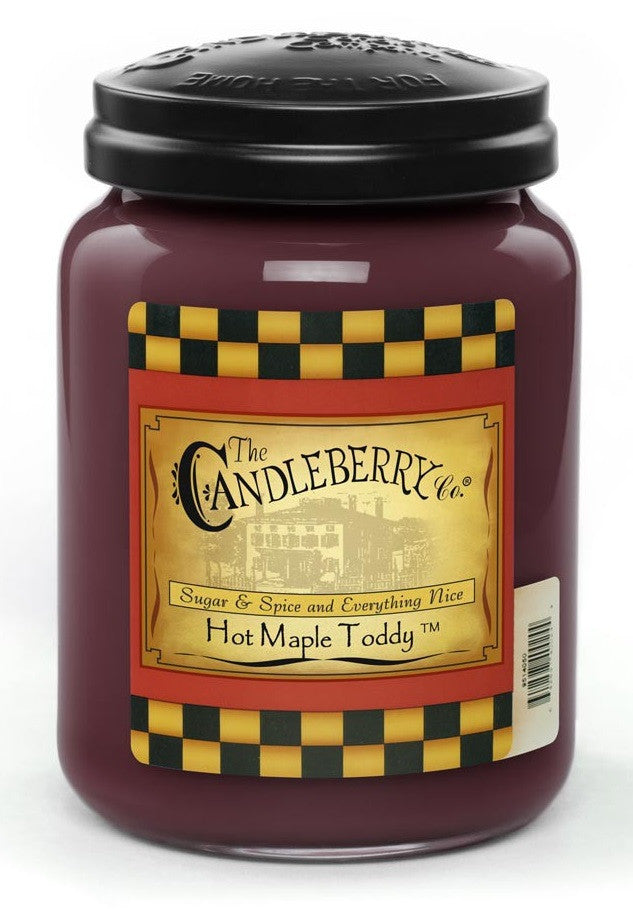 Hot Maple Toddy 26 oz. Jar Candle