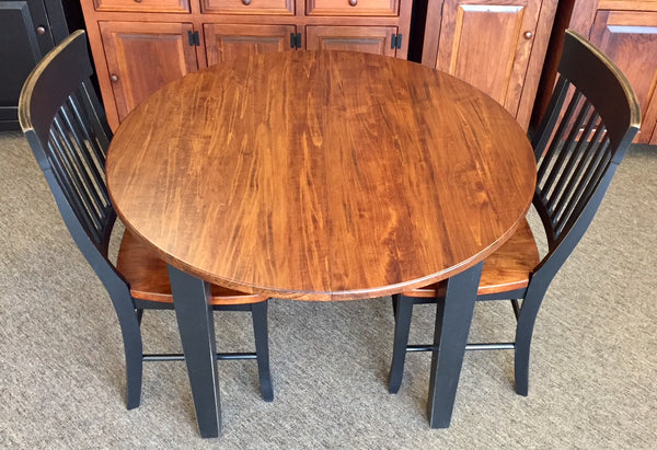 "Table-42"" Round Extension with 2 12"" Leaves"