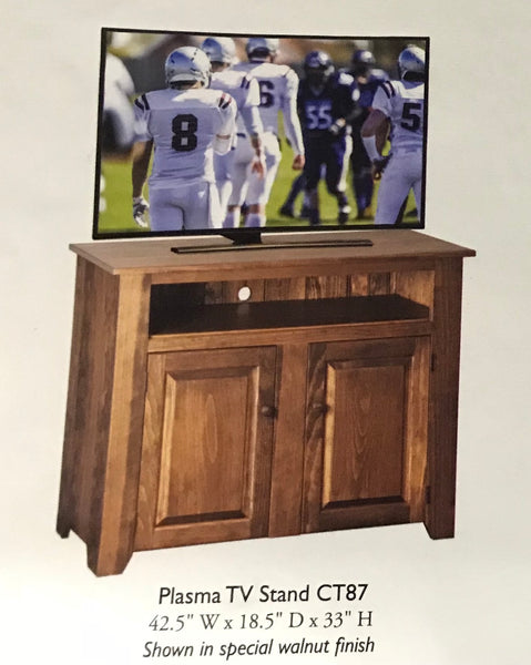 "TV Stand-42.5"" with Raised Panels"