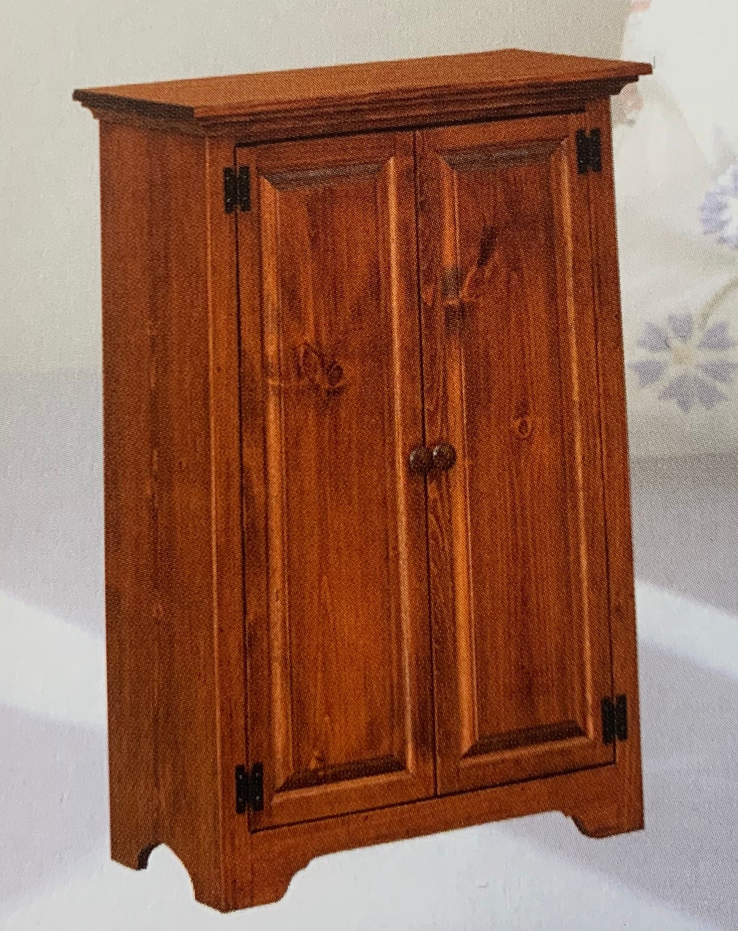 Low Bookcases With Doors: Cherry Small Bookcase With Solid Doors